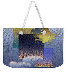 Twilight Interrupted By Ocean Breeze Weekender Tote Bag