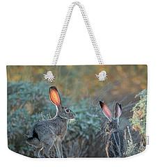 Twilight Jackrabbits Weekender Tote Bag