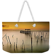 Weekender Tote Bag featuring the photograph Twilight by Jorge Maia