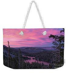 Twilight Mammoth Lakes  Weekender Tote Bag