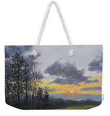 Twilight Meadow Weekender Tote Bag by Kathleen McDermott