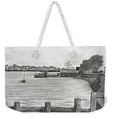 Twilight On Tomales Bay Weekender Tote Bag