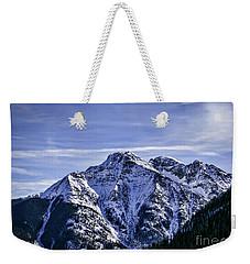 Twilight Peak Colorado Weekender Tote Bag by Janice Rae Pariza