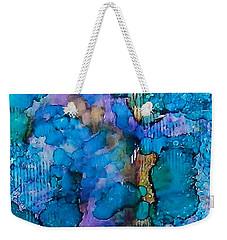 Weekender Tote Bag featuring the painting Twilight Recall Ink #20 by Sarajane Helm