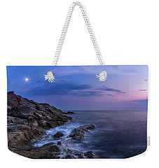 Twilight Sea Weekender Tote Bag