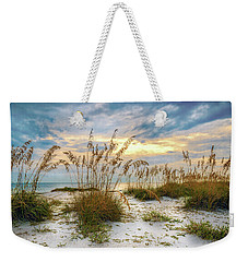 Twilight Sea Oats Weekender Tote Bag