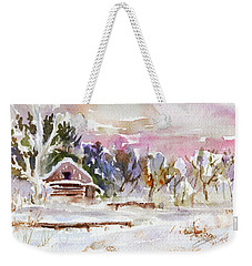 Twilight Serenade I Weekender Tote Bag by Xueling Zou