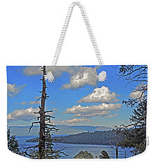 Weekender Tote Bag featuring the photograph Twilight Shadowfall by Lynda Lehmann