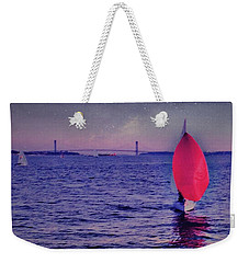 Twilight Spinnaker Weekender Tote Bag