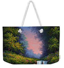 Twilight Whisper Weekender Tote Bag