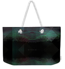 Weekender Tote Bag featuring the digital art Twilight Zone by Mimulux patricia no No