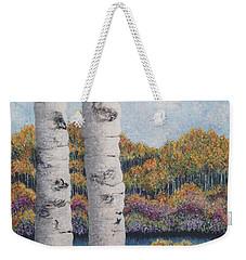 Twin Aspens Weekender Tote Bag by Holly Carmichael