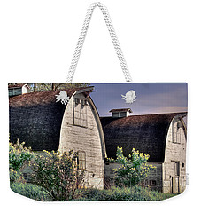 Twin Barns, Nisqually, Wa Weekender Tote Bag by Greg Sigrist