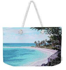 Twin Cove Paradise Weekender Tote Bag