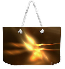 Twin Flame Weekender Tote Bag