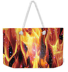 Twin Flames Weekender Tote Bag