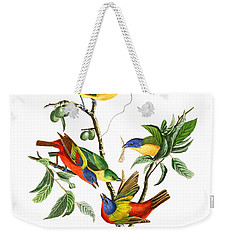 Weekender Tote Bag featuring the photograph Twin by Munir Alawi