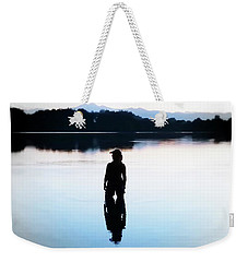 Twin Peaks Silhouette Weekender Tote Bag by Joseph Hendrix
