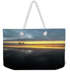 Twin Rocks Sunset Sliver Weekender Tote Bag