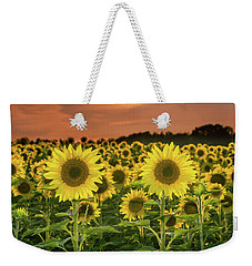Weekender Tote Bag featuring the photograph Peaceful Opposition by Bill Pevlor