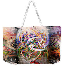 Twin Towers Weekender Tote Bag