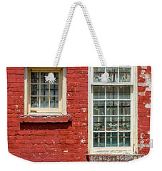 Weekender Tote Bag featuring the photograph Twins by Christopher Holmes