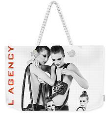 Twins Model Agency Weekender Tote Bag