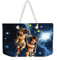 Twins Of Heaven Weekender Tote Bag