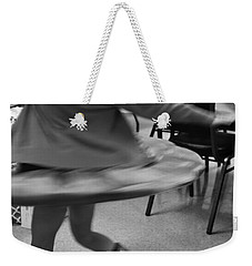 Twirling Girl  Weekender Tote Bag