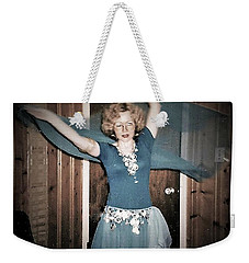Weekender Tote Bag featuring the photograph Twirling Vortex by Denise Fulmer