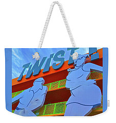 Twist Weekender Tote Bag
