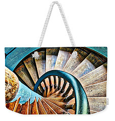 Twisted Blues Weekender Tote Bag