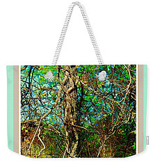 Twisted Branches Weekender Tote Bag