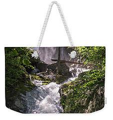 Twisted Falls Weekender Tote Bag