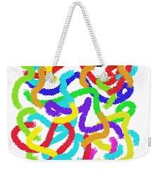 Twister Weekender Tote Bag