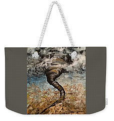 Twister On The Colorado Plains Weekender Tote Bag