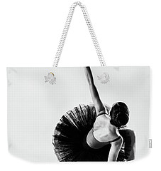 Twisting On Pointe Weekender Tote Bag