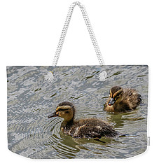 Two Baby Ducks Weekender Tote Bag