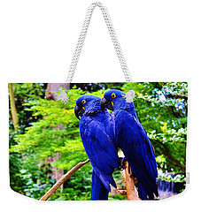 Two Birds Of A Feather Weekender Tote Bag