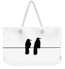 Two Birds On A String Weekender Tote Bag