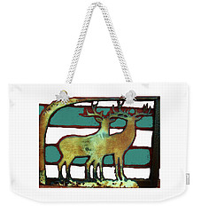 Two Bucks 3 Weekender Tote Bag