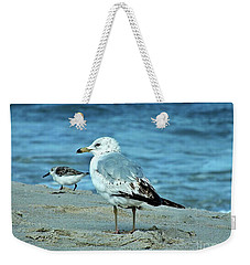 Two By The Sea  Weekender Tote Bag by Christy Ricafrente