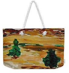 Two Cedars By The Sea Weekender Tote Bag
