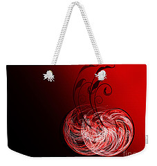 Two Cheery Cherries Weekender Tote Bag