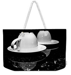 Two Coffee Cups Weekender Tote Bag