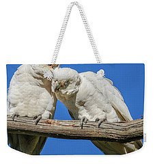 Two Corellas Weekender Tote Bag