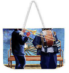 Two Da Jazz Way Weekender Tote Bag