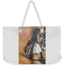 two dancers II after Degas Weekender Tote Bag