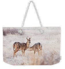Two Deers Weekender Tote Bag