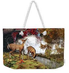 Two Deers Weekender Tote Bag